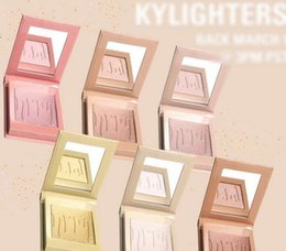 Wholesale Wholesale Water Salt - 2017 Kylie Kylighter Highlighters Cosmetics Strawberry Shortcake Candy Cream Salted Caramel Banana Split Kylighter French Vanilla In stock