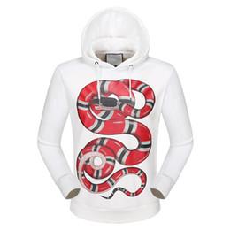 Wholesale Luxury Duck - Luxury Brand Designer hoodies for men women Italy Fashion Snake Donald Duck Tiger Print Men's Hoodies & Sweatshirts Palace mens jackets