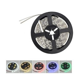 Wholesale Super Bright Rgb Led Strips - Super Bright 5m 5630 5050 3528 SMD 60led m LED Strip Light Waterproof Flexiable 300LED Cool Pure Warm White Red Blue Green 12V