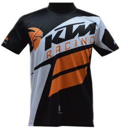 Wholesale Bikers T Shirts - Hot sell moto gp motorcycle shirt T-shirt KTM shirt biker Quick-dry shirt road T-shirt biker KTM downhill riding Jersey