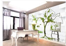 3D Angepasste Tapeten 3D Wandbilder Tapete Für Wohnzimmer Kunst Malerei TV  Hintergrund Moderne Wohnzimmer Tapeten Wandmalerei 3d Malerei Outlet