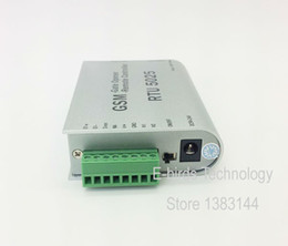 Wholesale Sms Gate Control - Wholesale- RTU5025 GSM Gate Door Opener Operator with SMS Remote Control (1Output 2 Inputs)