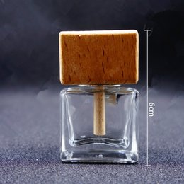 Wholesale Perfume Bottle Display - 12ML Flat Square Aromatherapy Bottle Display Perfume Bottle Glass Spray Cosmetics Bottle Fragrance & Deodorant fast shipping F20171956