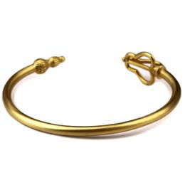 Wholesale Chinese Gold Charm Bracelet - Unique Kingly Charm Fashion Chinese Myth Of The Monkey King Bangle Opening Retro Male And Female Energy Lovers Bracelet