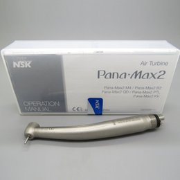 Wholesale Nsk Ceramic - High Quality NSK Pana Max2 Dental High Speed Handpiece Clean Head Push Midwest 4Holes Ceramic JAPAN