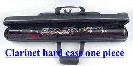 Wholesale One Piece Hard Case - Wholesale-Clarinet hard case one piece Case Free shipping China Factory woodwind Custom Shop Musical Instruments Free shipping