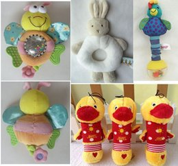 Wholesale Mixed Melodies - Cartoon Rabbit Rattle Baby Toy Rustle Bee Can Play Melody When Pull Development Intelligence Education Toys Mix Design