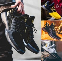 Wholesale Cotton Fabric History - Latest James Harden Vol.1 Black History Month White Orange Gold Men's Basketball Shoes Harden Vol.1 Low BHM Boys Grade School Sneakers