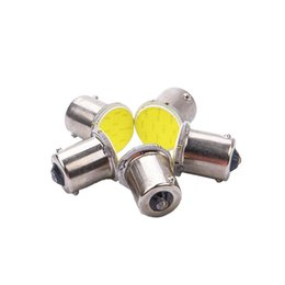 Lâmpadas led rv on-line-10xFrete Grátis Super branco cob p21w led 12SMD 1156 ba15s 12 v bulbo RV Caminhão de Reboque estilo do carro Luz de estacionamento Auto led Car lâmpada