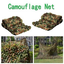 Wholesale Camping Military Camouflage Net - Woodland Camo Netting Camping Military Hunting Camouflage Net Army Mesh Military For Camping Hunting Outdoor Sunscreen B112L