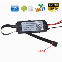 Wholesale Dvr High Quality - HD 1080P WiFi IP Camera Nanny Cam Mini DV DIY Module DVR Wireless Nanny Camera P2P Camcorder High Quality