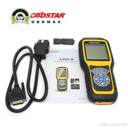 Wholesale Odometer Correction Mileage Ford - OBDSTAR X300M OBDII Odometer Correction X300 M Mileage Adjust Diagnose Tool Update By TF Card