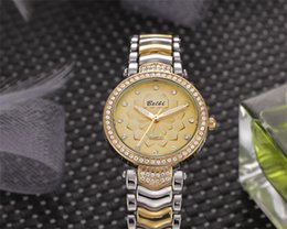 Wholesale Cheap Gold Jewelry China - Fashion Ladies Wristwatches Diamond Dial with Top Alloy Strap Women Watches Cheap China Watches Brand BELBI