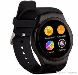 Wholesale Hd Gear - In stock Original NO.1 Bluetooth Smart Watch phone 1.3 inch HD Screen support SIM TF card smartwatch For Android & IOS samsung gear s2 PK X3