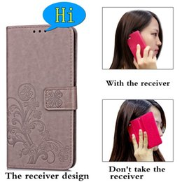 tarjeta delgada móvil Rebajas De gama alta bolsa de la pistolera de cuero de la PU para el iPhone 6S Plus Card S8 Samsung bolsillo cajas del teléfono móvil celular Cubiertas delgado retro de lujo del caso 6s