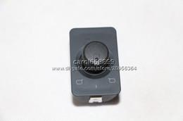 Wholesale Audi Mirror Switch - OEM 4B1959565A   4B1959565 Brand New Side Rear Mirror Switch Control Knob For C5 A6 S6 1998 1999 2000 2001 2002 2003 2004 2005