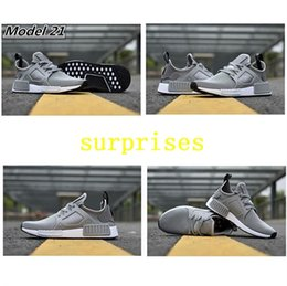 Wholesale Skull Shoes Men - 2017 NMD XR1 III Running Shoes Mastermind Japan Skull Fall Olive Green Glitch Black White Blue Camo Pack Men Women Sports Shoes 36-44