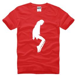 Wholesale Green Dance Shorts - New Designer Michael Jackson T Shirts Men Cotton Short Sleeve MJ dancing Printed Mens T-Shirt Fashion Summer Male Funs Tee Shirt