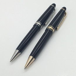 Wholesale Best Art Supplies - MB-High Quality Best Design 145 Classique Meister Platinum Line LeGrand Ballpoint Pen for best gift office school supplies