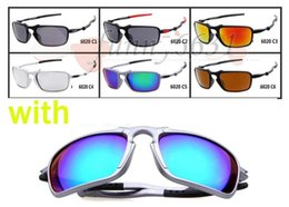 Wholesale Motorcycles Sunglasses - 10pcs men fashion sunglasses sports motorcycle spectacles women Dazzle colour Cycling Sports Outdoor PILOT Sun Glasses 6color free shipping