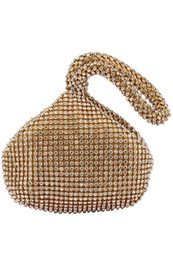 Wholesale Events Bags - Special Design Black Gold Silver Shell Bridal Handbags For Wedding Evening Events Sparkly Crystal Beaded Wallet Bags CPA959