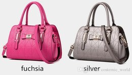 Wholesale Western Style Leather Bags - 2016 hot sale Fashion Women Ladies seven colors boston bags western style Designer Handbags versatile pu leather backpacks