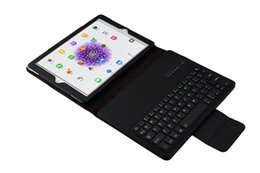 Wholesale Cross Textures - Bluetooth Keyboard Cross Texture Leather Case for ipad 9.7