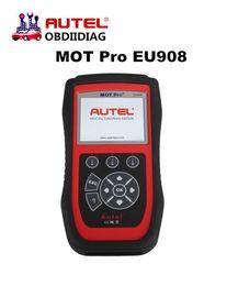 Wholesale Dpf Reset - Original Autel MOT Pro EU908 All System Diangostics with EPB Oil Reset DPF SAS Multi Function Scanner Free Update
