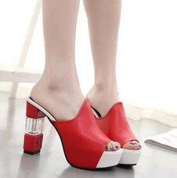 Wholesale Shower Heads For Women - In 2016, the new summer fish-head sandals fashion diamond slippers and slippers us5-9 are free for delivery