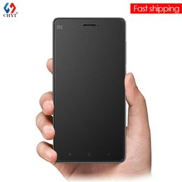 Wholesale Frosted Glass Screen - Wholesale-9H Premium Matte Tempered Glass Screen Protector For Xiaomi Mi4c 5inch XiaoMi4C Anti Finger prints Frosted De Vidro Protective