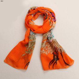 Wholesale Chiffon Neck Scarves - Wholesale- KLV Chiffon Soft Neck Scarf Shawl Scarves Stole Wraps