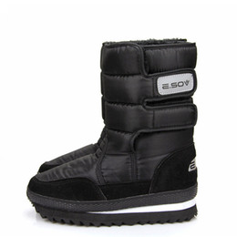 Wholesale Air Legs - Wholesale-WEISE Free shipping women shoes Slip-resistant waterproof snow boots male snow boots shoes medium-leg boots women