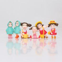 Wholesale Ponyo Figure Pvc - Spirited away trap Hayao Miyazaki Anime My Neighbor Totoro Ponyo figure PVC Model Toys