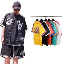 Wholesale Guy Shirts - dongguan_wholesale in stock 2017 high Europe street shirt men Hip Hop Suit Pullover street wear Men fashion cool guys quality