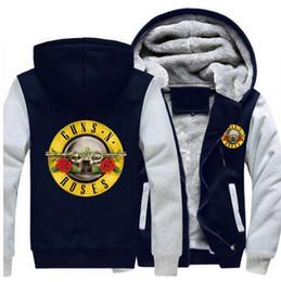 Wholesale Tattoo S Guns - Hooded Sweatshirts Guns N 'Roses New and New Five-Dimensional Men's Tattoo Sweat Sweater Sweat