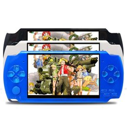 Wholesale Electronics Books - New hot 4.3inch Screen Children Classic Handheld Digital Screen Video PSP Game Console With Camera Music & Electronic Books