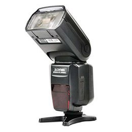 Wholesale Dsrl Camera - ZM-580T Auto Focus TTL High Sync Speed Flash Speedlite Speedligt Flash with Radio Slave for Nikon DSRL Cameras