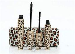 Wholesale Love Alpha Double - 2014 New Waterproof LOVE ALPHA Double Brand Mascara with Panther Leopard Case 1 Set= 2 PCS Mascaras 60 Set