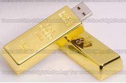 Wholesale Branded Usb Memory Flash Drive - 128GB 256GB 512GB 1TB 2TB Gold bullion usb flash drive pendrive flash memory disk  USB External storage disk U disk