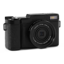 Objectifs interchangeables en Ligne-Appareils photo numériques professionnels 24MP HD Half-DSLR avec 4x téléobjectif Fisheye Grand Angle Camera Macro HD Camera MOQ: 1PCS