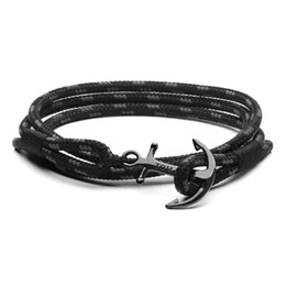Wholesale Wholesale Gold Hope - Free Shipping 10pcs lot tom hope anchor bracelets stainless steel for wholesale for women and men