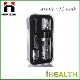 Wholesale Sub 12 - Authentic! Horizon Arctic V12 sub ohm tank 24&12 coils with Powerful V12 Twelve Coil Structure vs smok TFV8 beast tank