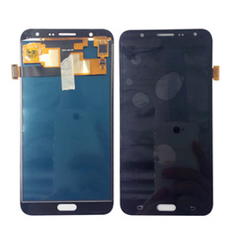 Wholesale Galaxy S3 Screen Display - LCD Display+Touch Screen LCD Digitizer Assembly For Samsung Galaxy J7 2015 J700 SM-J700F J700M J7000 100% Tested Working Good Free Shipping