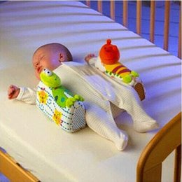 Wholesale Side Sleeper Pro Pillow - Wholesale-Sozzy Infant Sleep Positioner Baby Anti-roll Pillow Baby Pillow Infant Toddler Ultimate Vent Sleep System Baby Pillow Positioner