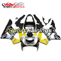 Wholesale 919 Fairing - Complete ABS Plastics Fairings Black Grey Yellow Covers For Honda CBR900RR 919 Year 1998 1999 98-99 Motorcycle Fairing Kit Bodywork Cowlings