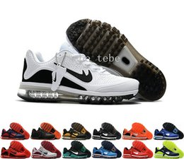 Wholesale Sneakers Mens Brands - 2017.5 Name Brand Sneakers Maxes KPU Running Shoes For Men Training Runners Outdoor 2017 Sports Shoes Mens Hking Sneakers Free Shipping