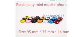 Wholesale Unlock Car Radio - 5 pcs lot newmind F3 unlock bar cheap luxury small size mini sport cool supercar car key model bluetooth cell mobile phone cellphone