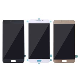 Wholesale Cell Phone Capacitive Screen - For Samsung C7000 cell phone lcd display Touch Screen Digitizer For Samsung C7 pro best high quality Free shipping