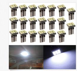 2019 lâmpadas de luzes led vermelhas 100 PCS T10 1206 12SMD LED Car Auto Wedge Turn Signal Lâmpada Lâmpada Branca DC12V atacado