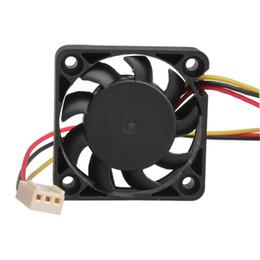 Вентилятор 4 см 12v онлайн-Wholesale- 3 Pin 40mm Computer CPU Cooler Cooling Fan Fans PC 4cm 40x40x10mm DC 12V